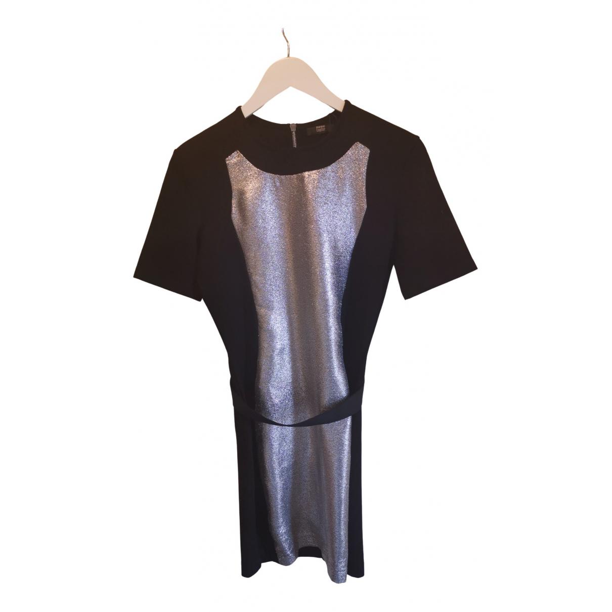 Markus Lupfer \N Kleid in  Schwarz Baumwolle - Elasthan