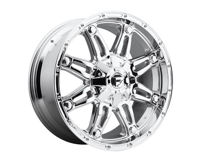 Fuel D530 Hostage Wheel 18x9 BLANK -12mm Chrome Plated
