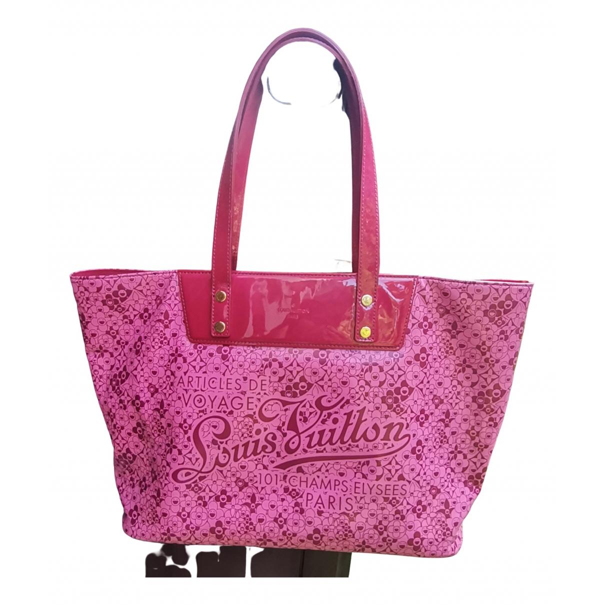 Louis Vuitton - Sac a main Cosmic blossom pour femme - rose