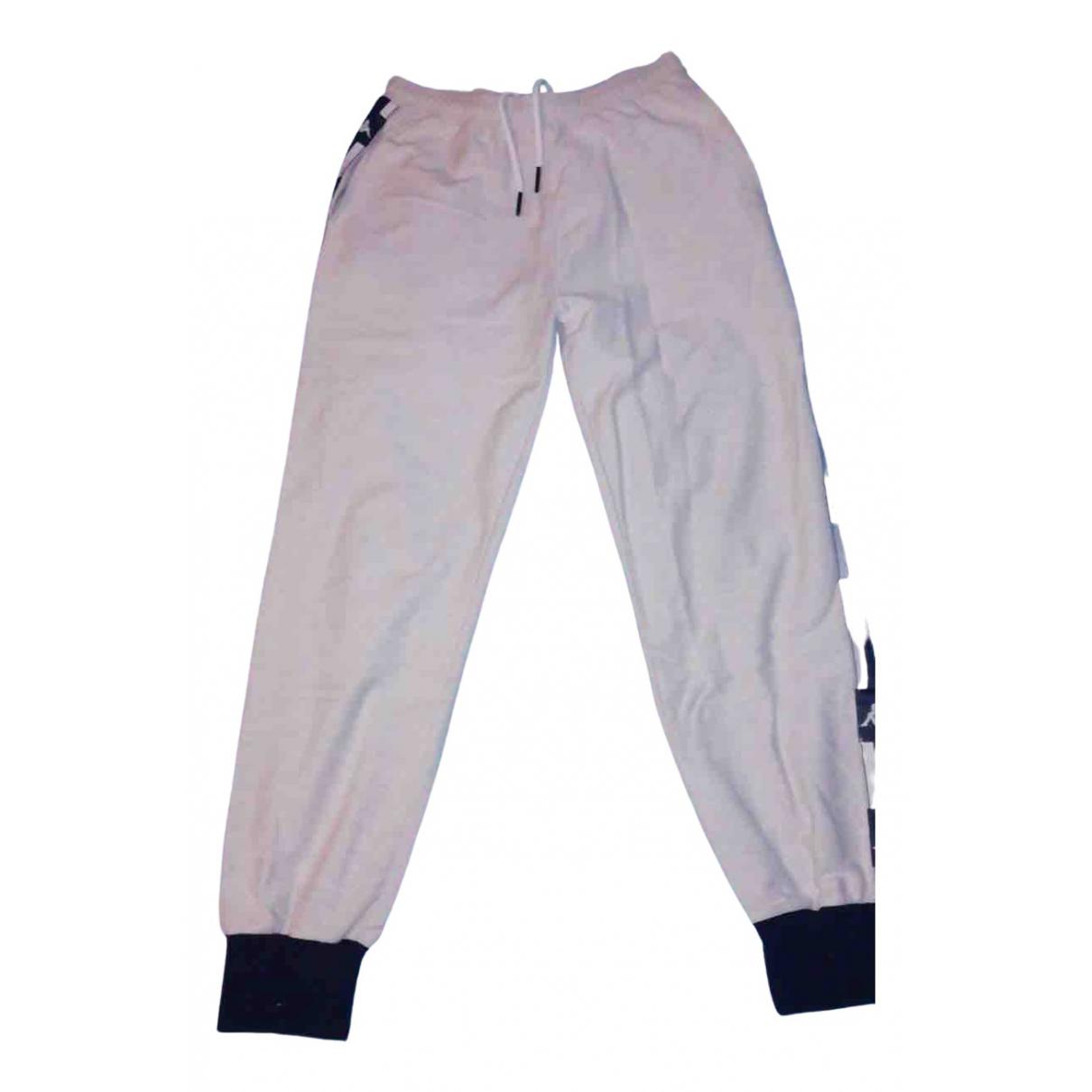 Kappa N Grey Cotton Trousers for Men M International