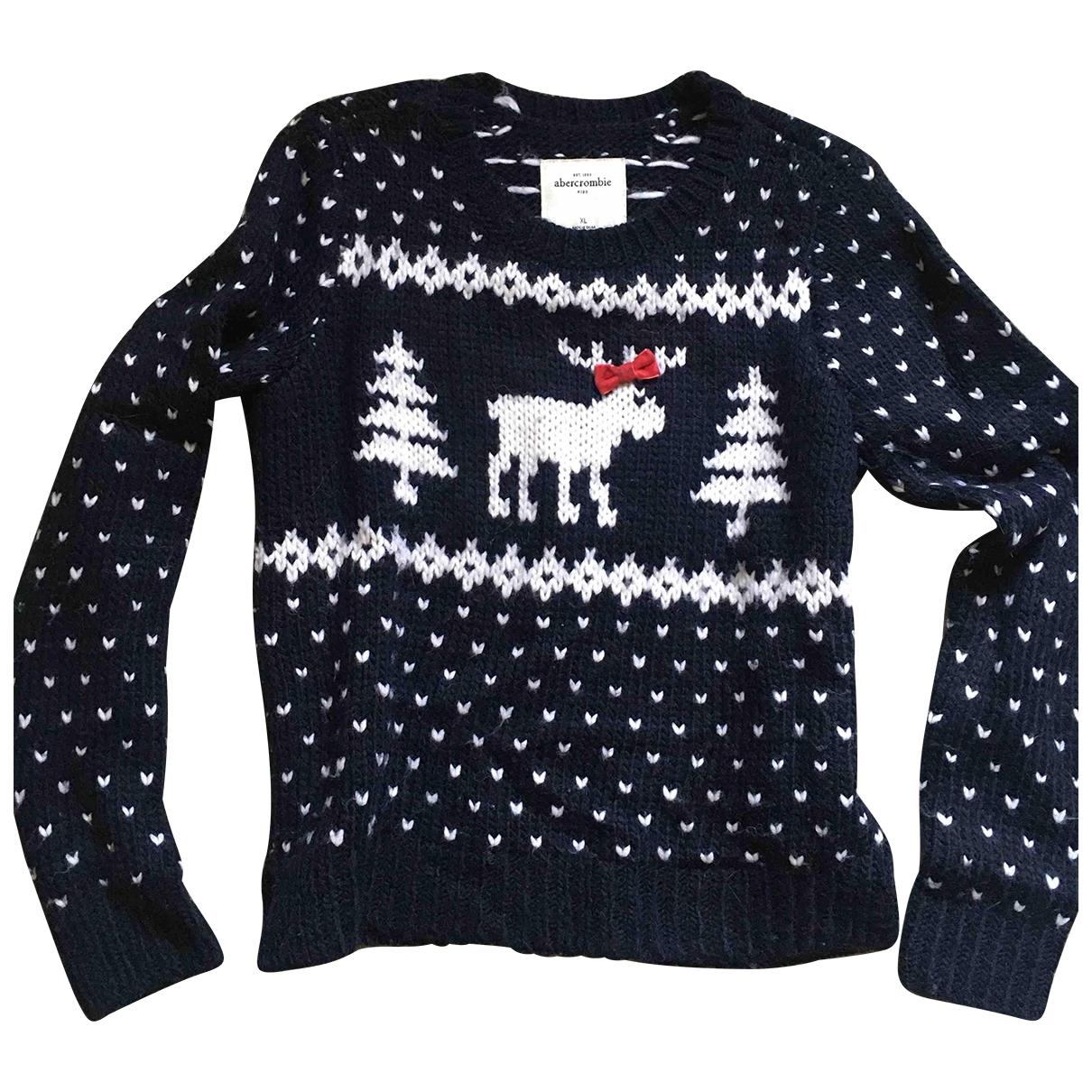 Abercrombie & Fitch \N Blue Wool Knitwear for Women 40 IT