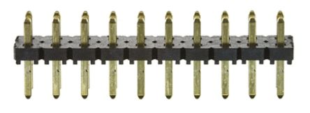 Samtec , Flex Stack TLW, 20 Way, 2 Row, Straight Pin Header