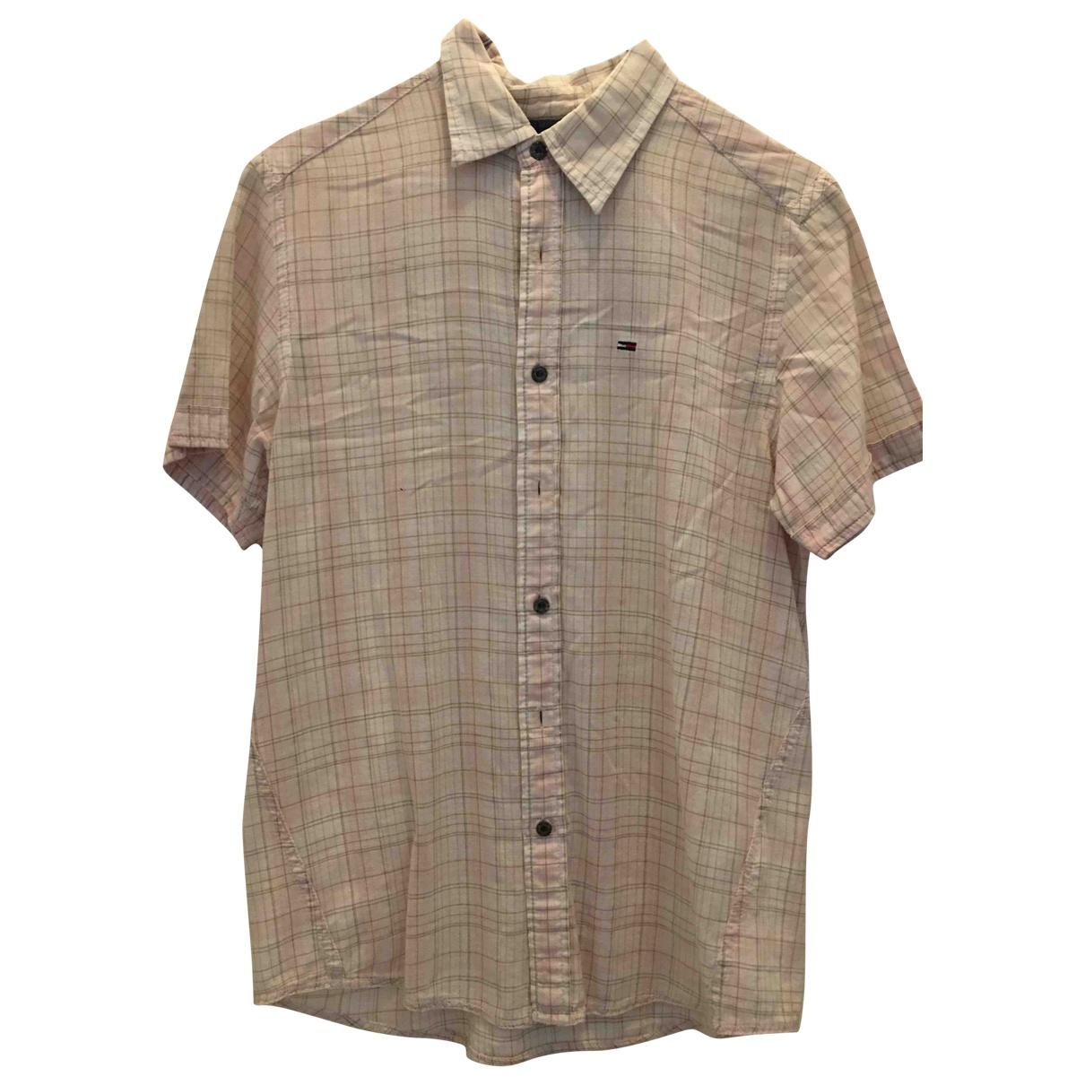 Tommy Hilfiger N Pink Cotton Shirts for Men S International