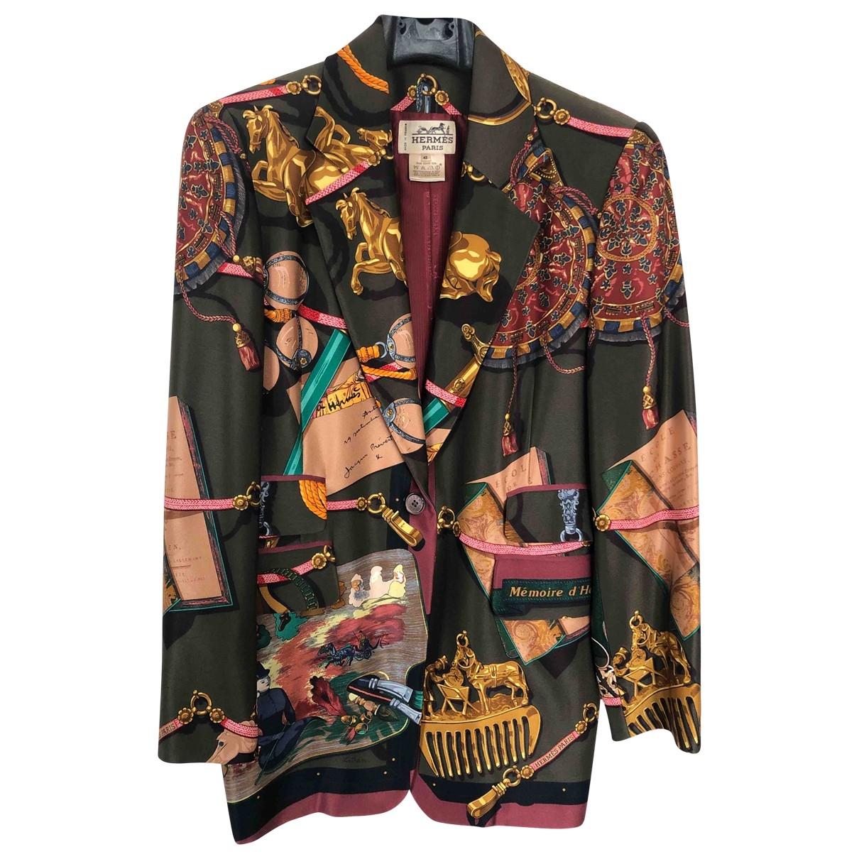 Hermès \N Silk jacket for Women 42 FR