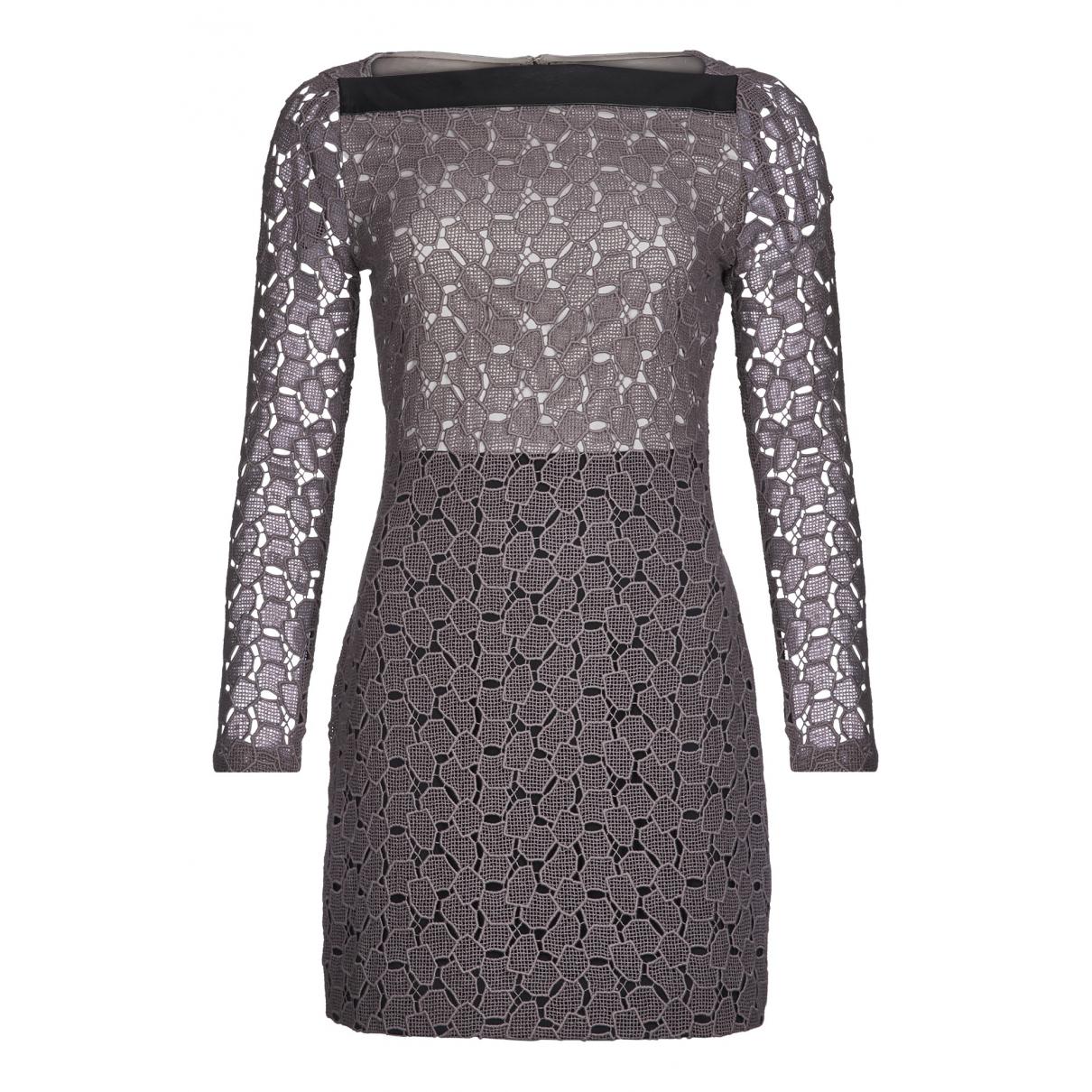 Diane Von Furstenberg \N Kleid in  Braun Baumwolle