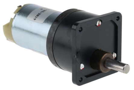 RS PRO , 12 V dc, 20 Ncm, Brushed DC Geared Motor, Output Speed 80 rpm