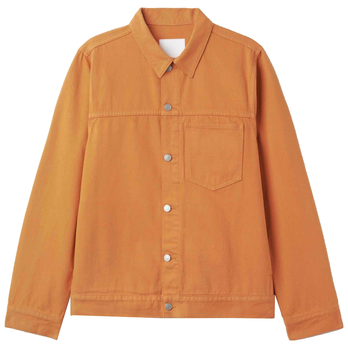 Weekday - Veste   pour femme en denim - orange