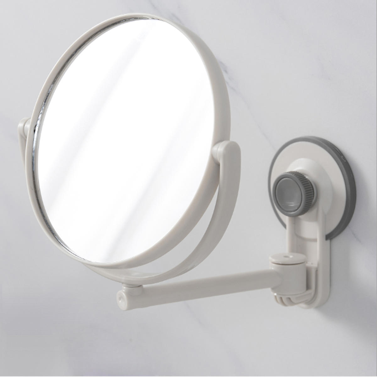 360° Suction Cup No Fog Free Shaving Shave Bathroom Makeup Double-sided Mirrors