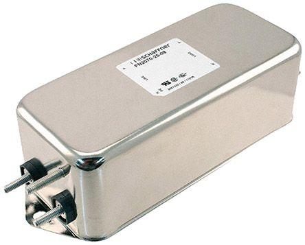 Schaffner , FN2070 25A 250 V ac 400Hz, Chassis Mount EMI Filter, Stud