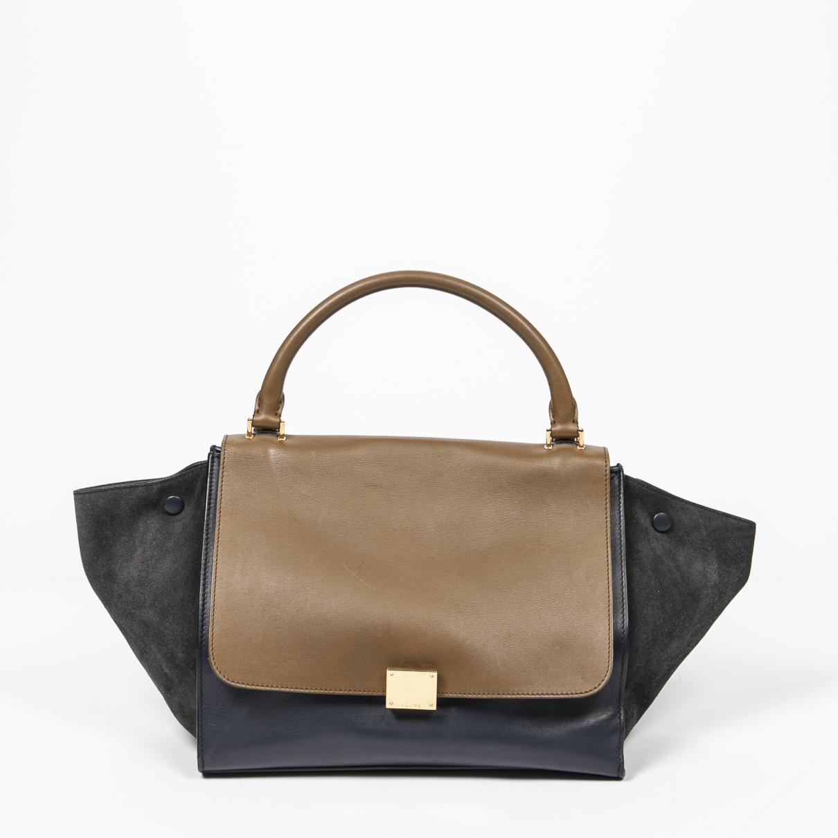 Celine Trapeze Handtasche in Leder