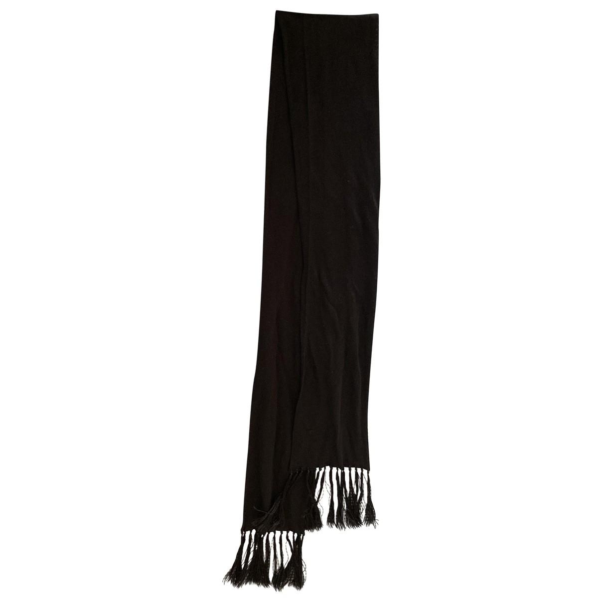 Dsquared2 \N Black Silk scarf & pocket squares for Men \N