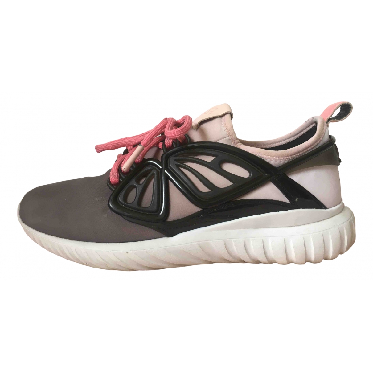 Sophia Webster \N Pink Cloth Trainers for Women 38 EU