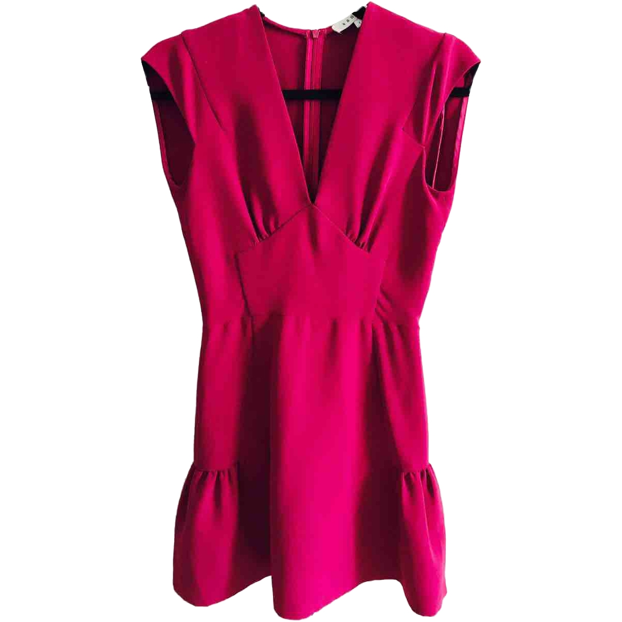 Sandro \N Kleid in  Lila Polyester