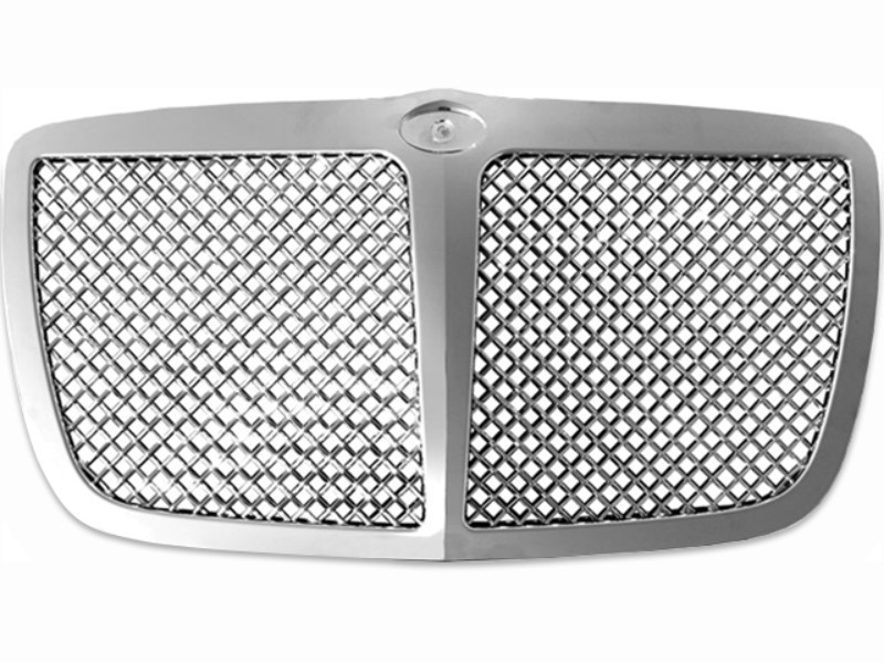 Quality Automotive Accessories Billet Grille Overlay CHRYSLER Base 300 | C-Model 300 05-10