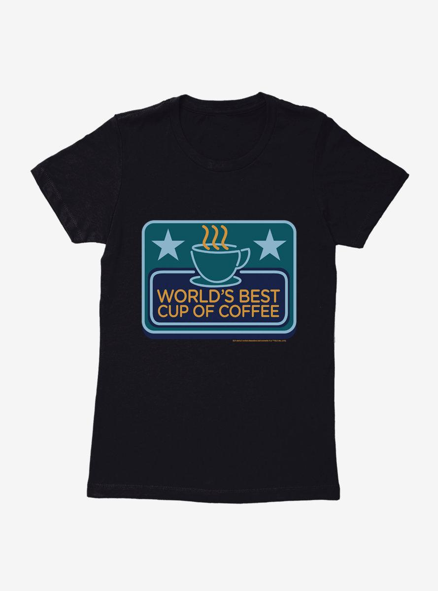 Elf Worlds Best Coffee Womens T-Shirt