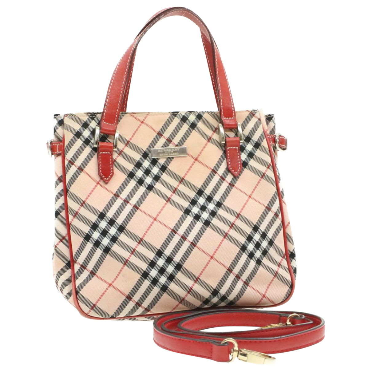 Burberry \N Red Cloth handbag for Women \N