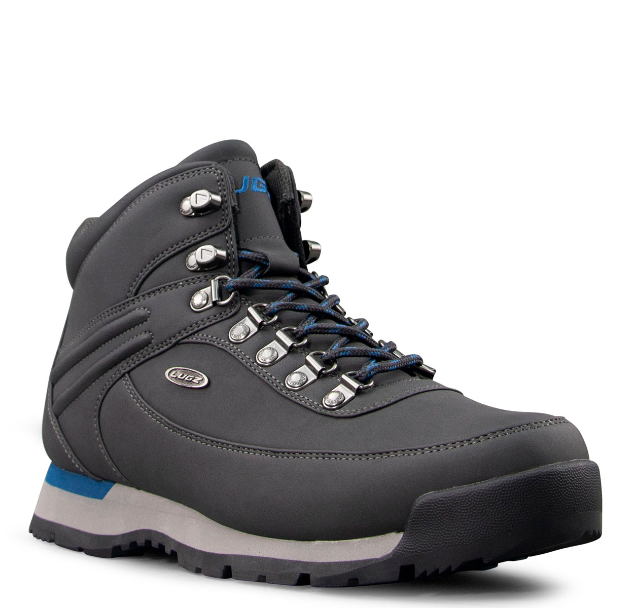 Men's Aspen Chukka Boot (Choose Your Color: DK GREY/BLUE LAKE/BLACK, Choose Your Size: 7.5)