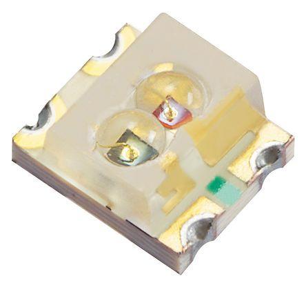 Kingbright 2.5 V, 4.1 V Green & Red LED SMD,  KPBL-3025SURKZGC (20)