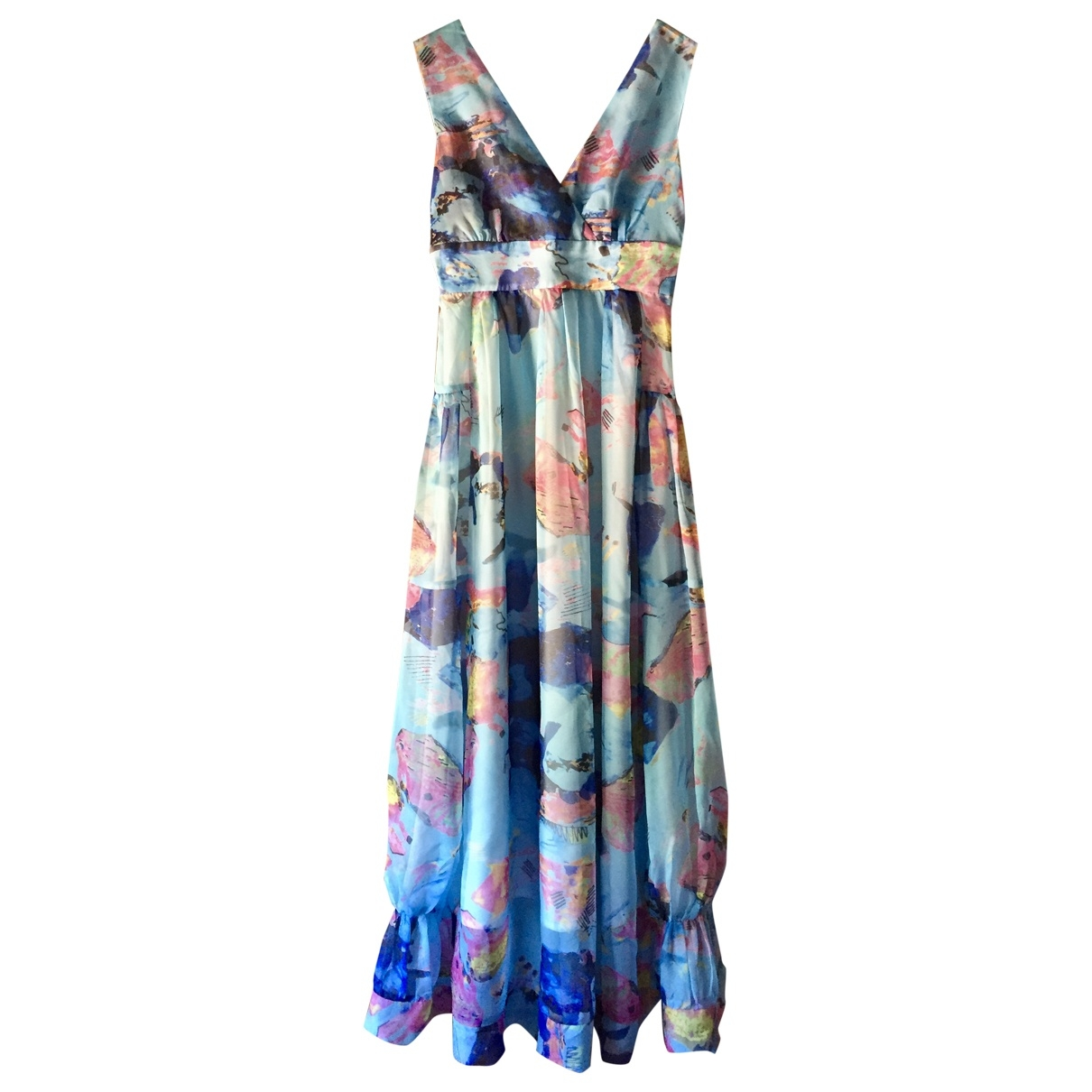 Non Signé / Unsigned \N Blue dress for Women S International