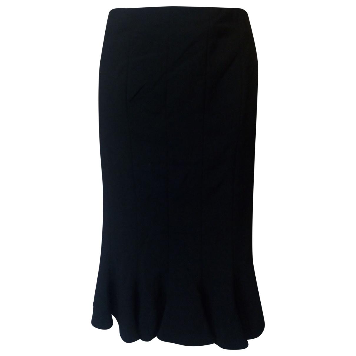 Giorgio Armani - Jupe   pour femme en laine - noir