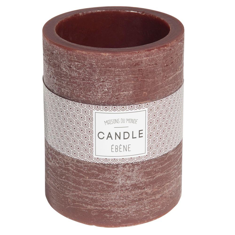 Kerzenlaterne braun H 12 cm