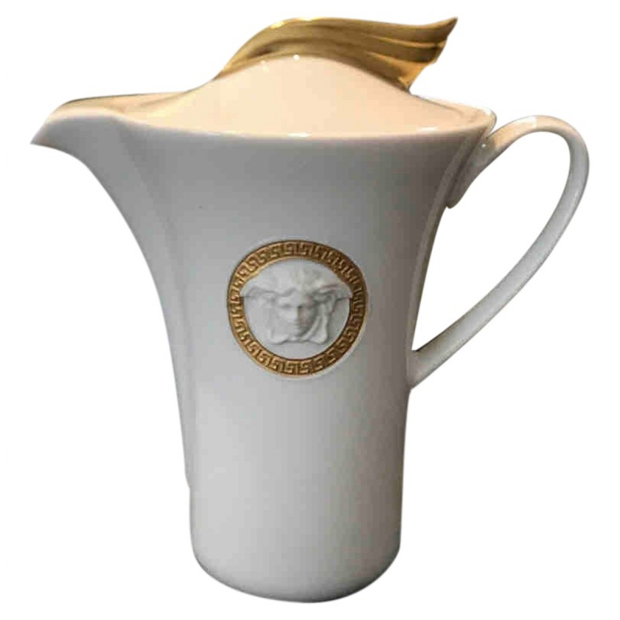 Versace \N White Porcelain Dinnerware for Life & Living \N
