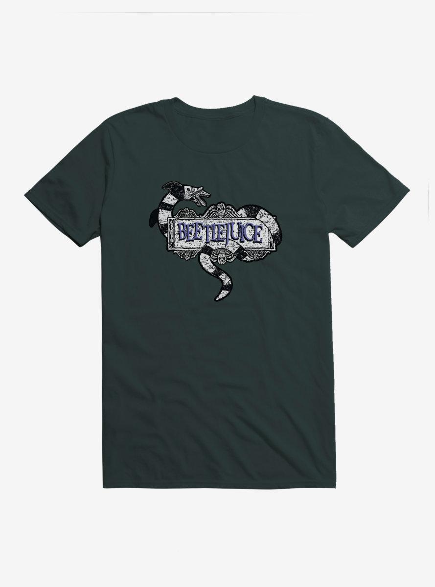 Beetlejuice Title Snake T-Shirt