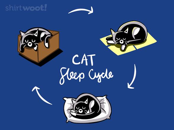 Kitty Sleep Cycle T Shirt