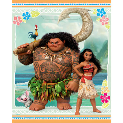 Moana 8 Loot Bags For Birthday Party