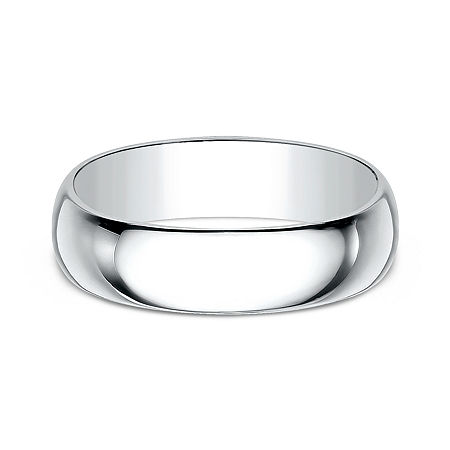 7MM 14K Gold Wedding Band, 10 1/2 , No Color Family