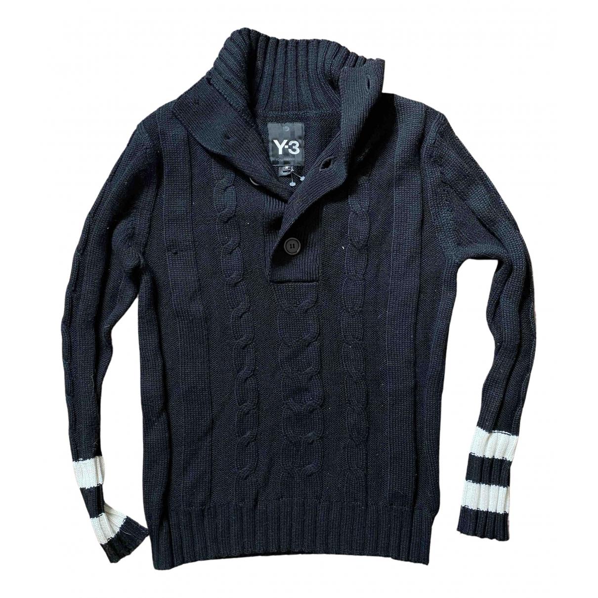 Y-3 By Yohji Yamamoto - Pull   pour femme en laine - noir