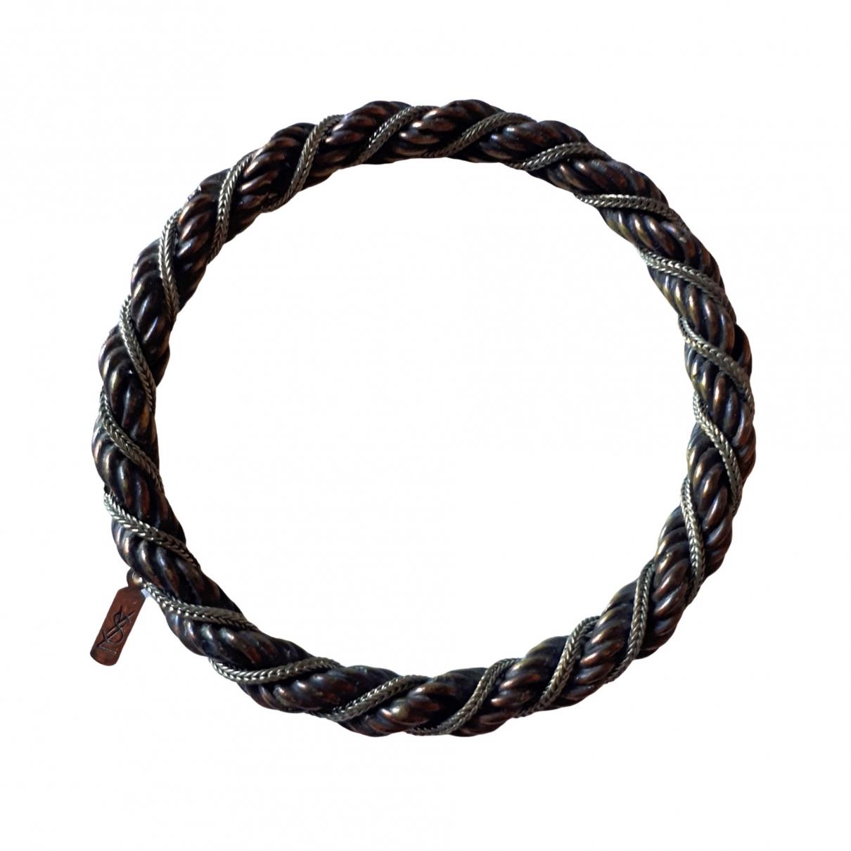 Yves Saint Laurent \N Armband in Metall