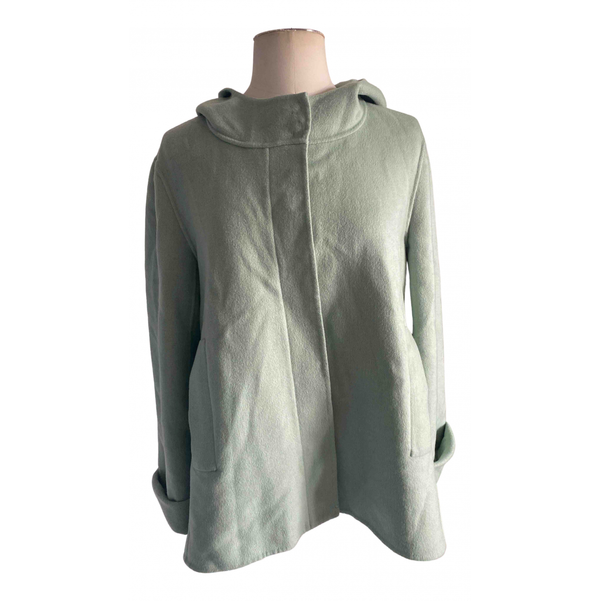 Max & Co N Green Wool jacket for Women 12 UK
