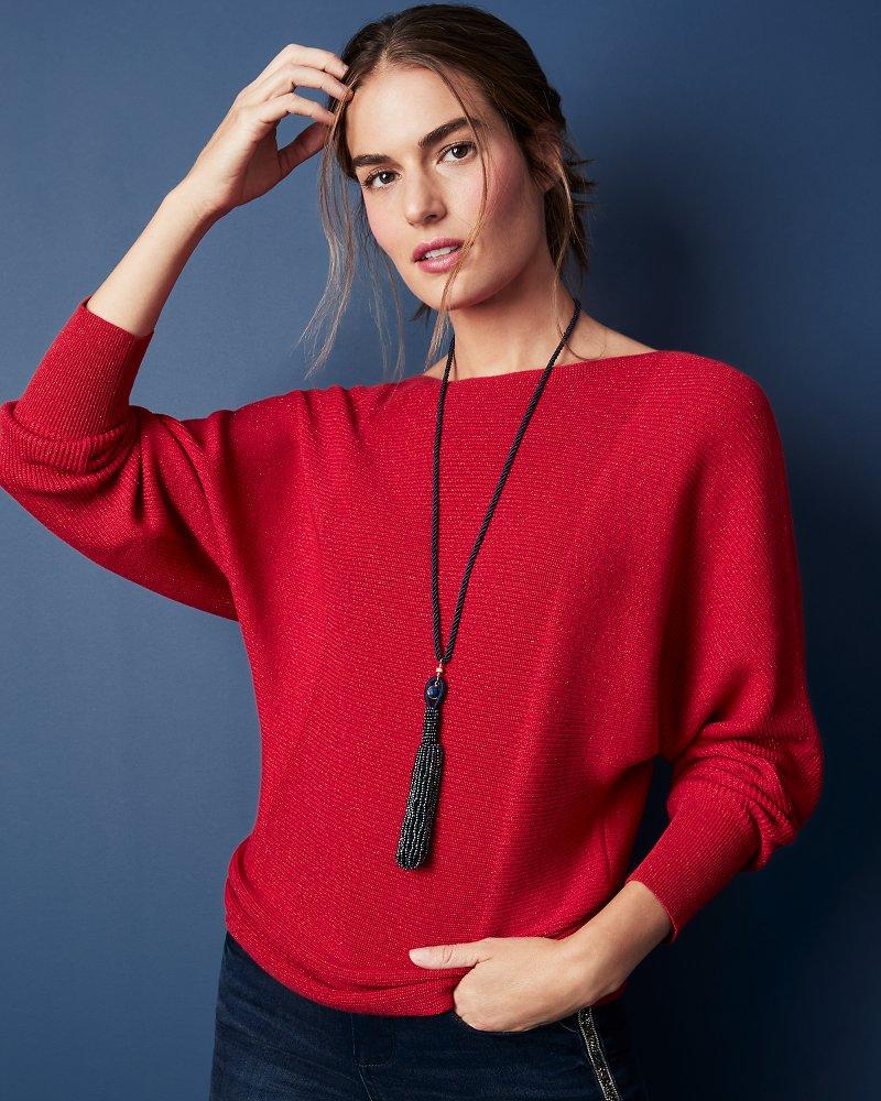 Sparkle Bonita Pullover Sweater