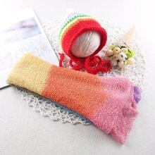 Newborn Unisex Wrap Blanket & Hat Photo Outfit