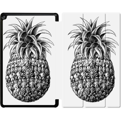 Amazon Fire HD 10 (2018) Tablet Smart Case - Ornate Pineapple von BIOWORKZ
