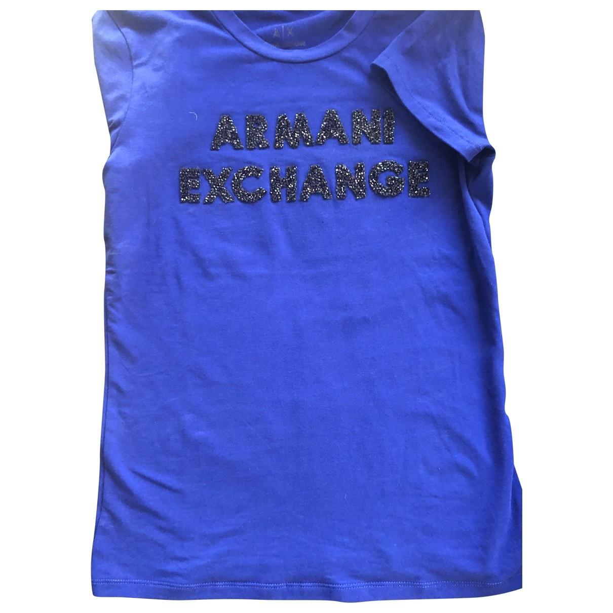 Emporio Armani \N Top in  Blau Baumwolle