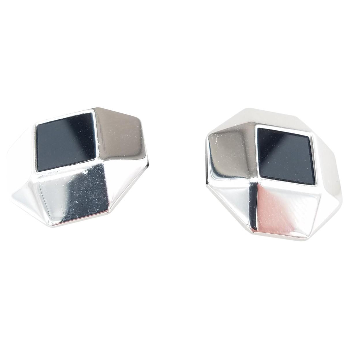 Nina Ricci \N Silver Silver Plated Cufflinks for Men \N