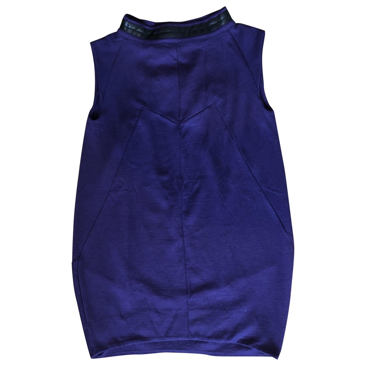 Marc By Marc Jacobs \N Kleid in  Lila Wolle