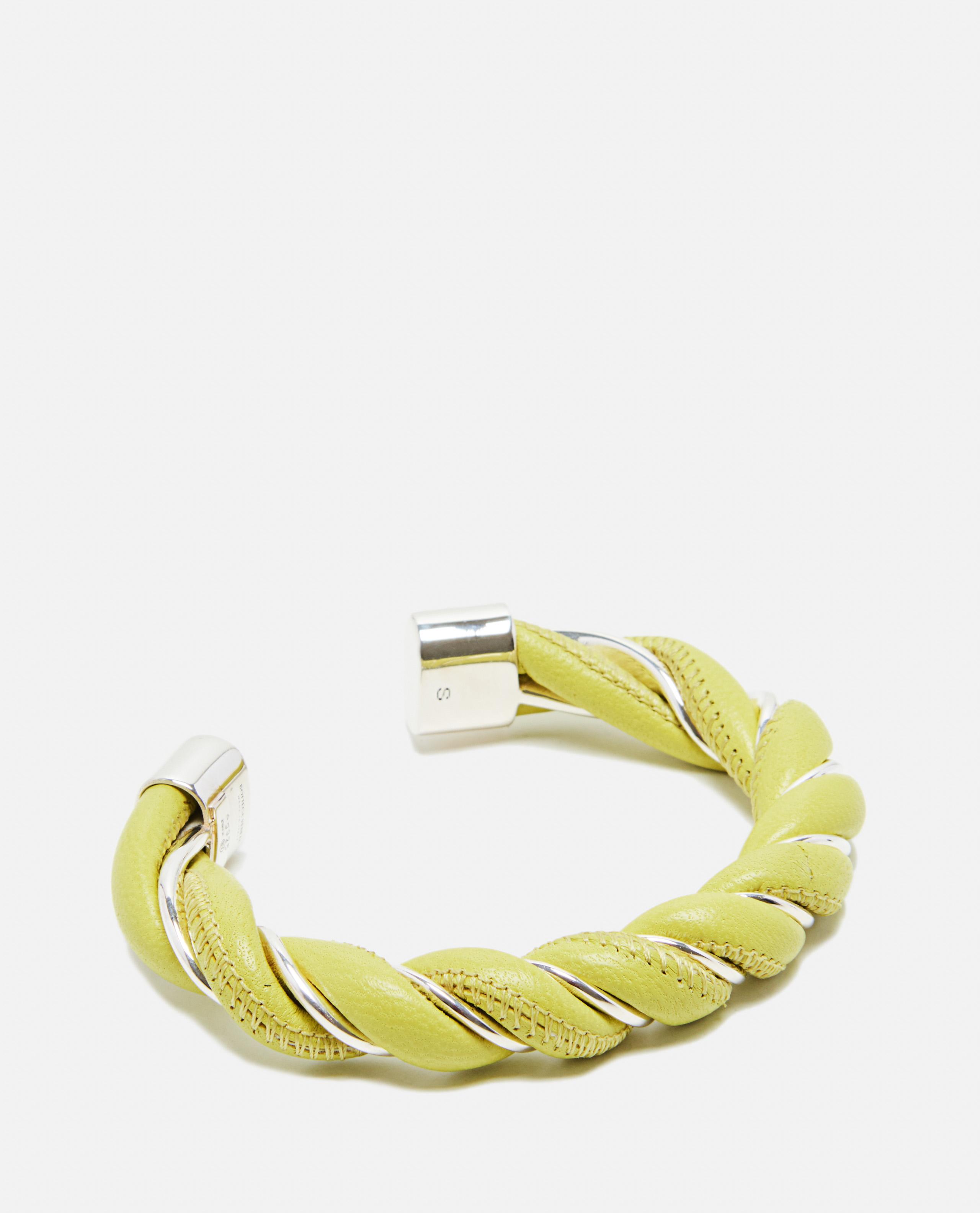 Spiral bracelet in Nappa leather