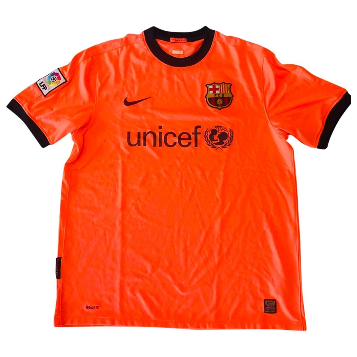 Nike - Tee shirts   pour homme - orange