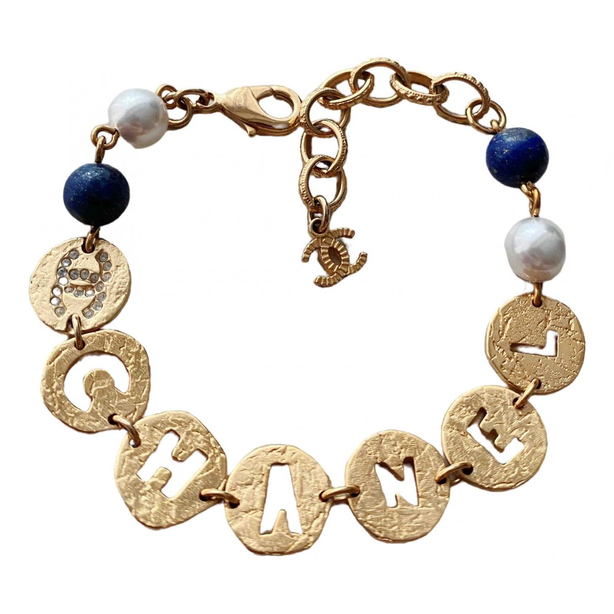 Chanel CHANEL Gold Metal bracelet for Women \N