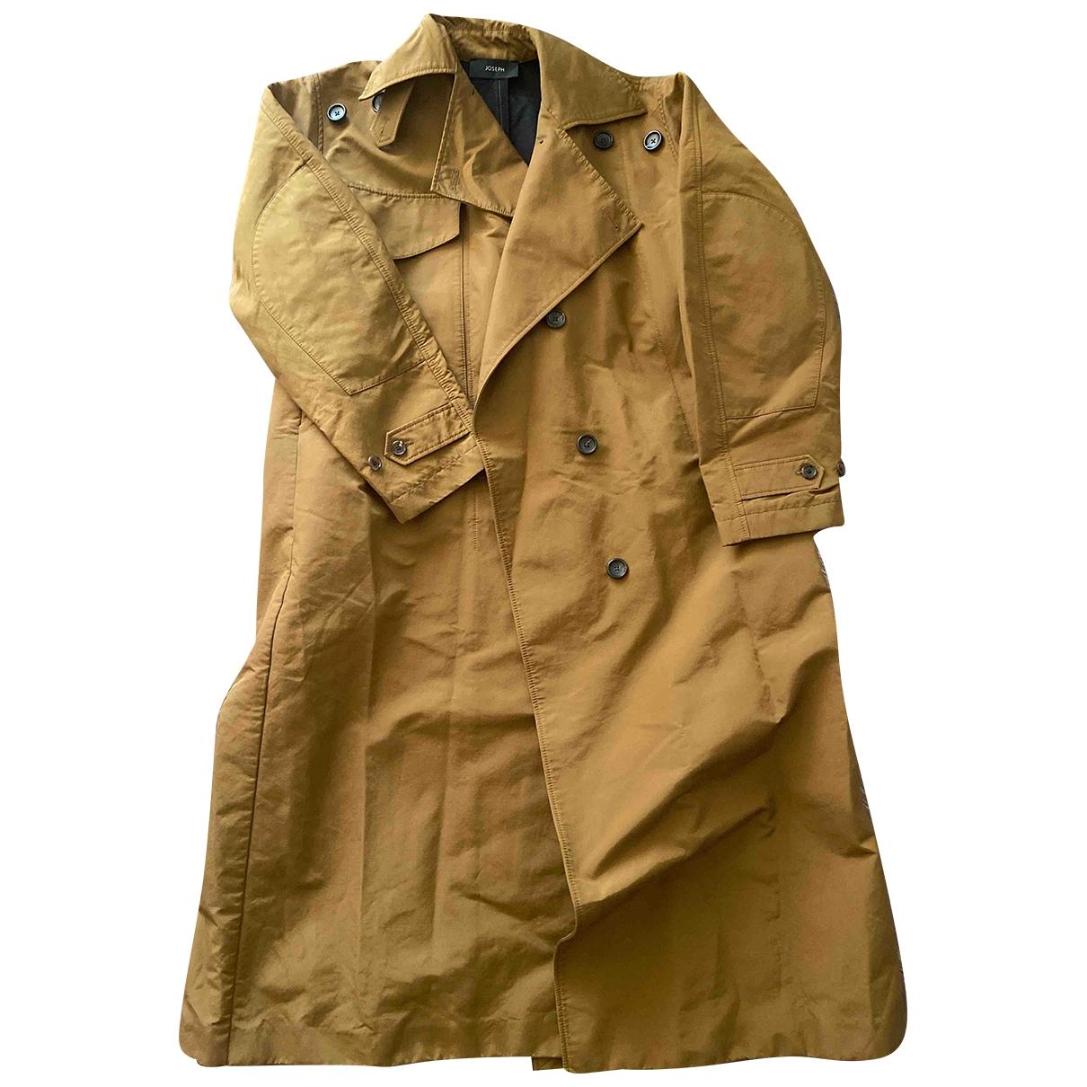 Joseph - Manteau   pour femme en coton - marron