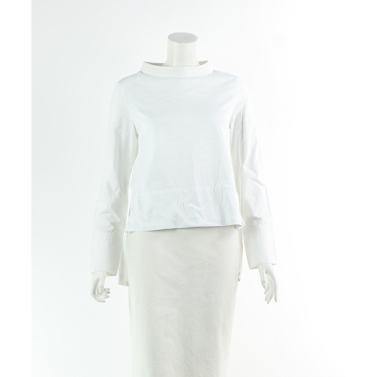 Marni \N White Cotton  top for Women 38 FR
