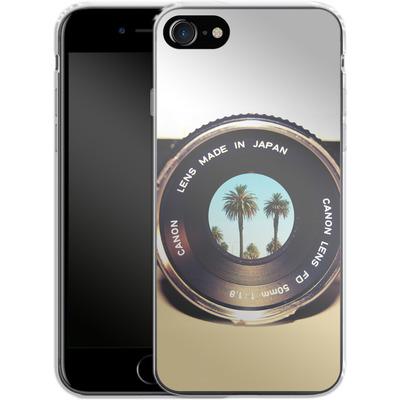 Apple iPhone 8 Silikon Handyhuelle - Focus On Palms von Bianca Green