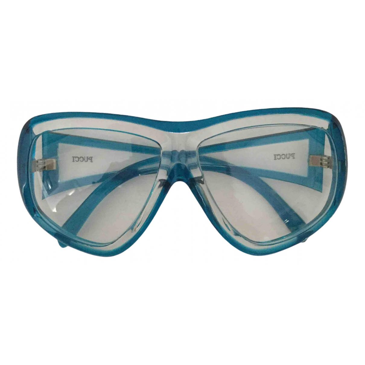 Emilio Pucci - Lunettes   pour femme - bleu