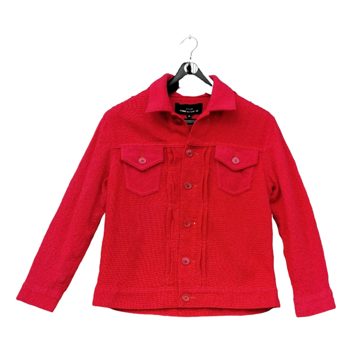 Comme Des Garcons \N Red Wool jacket for Women M International