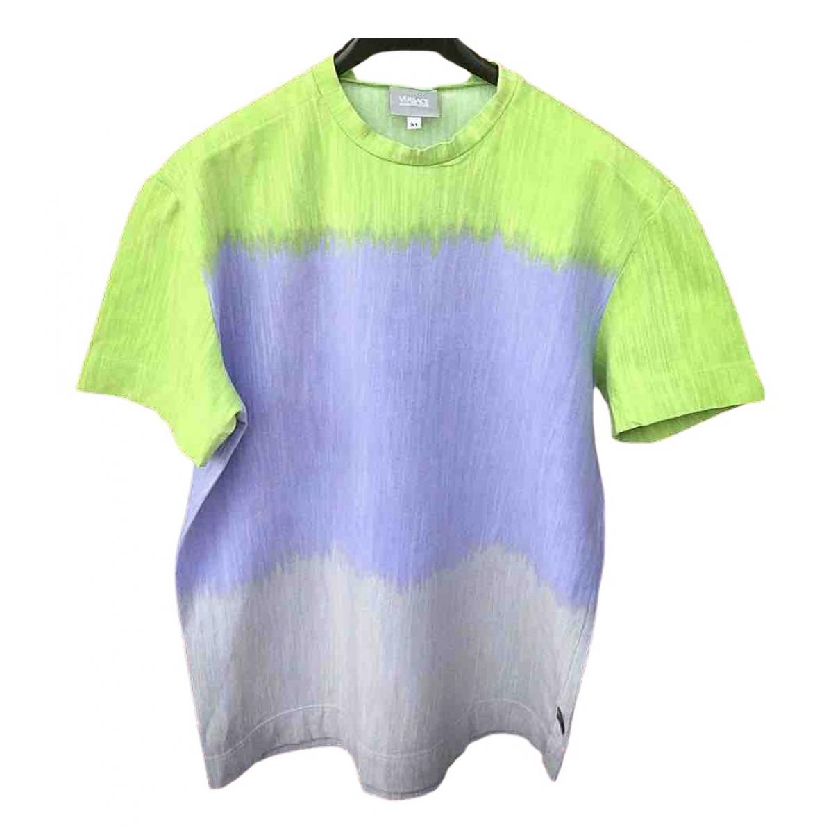 Versace \N T-Shirts in  Bunt Baumwolle