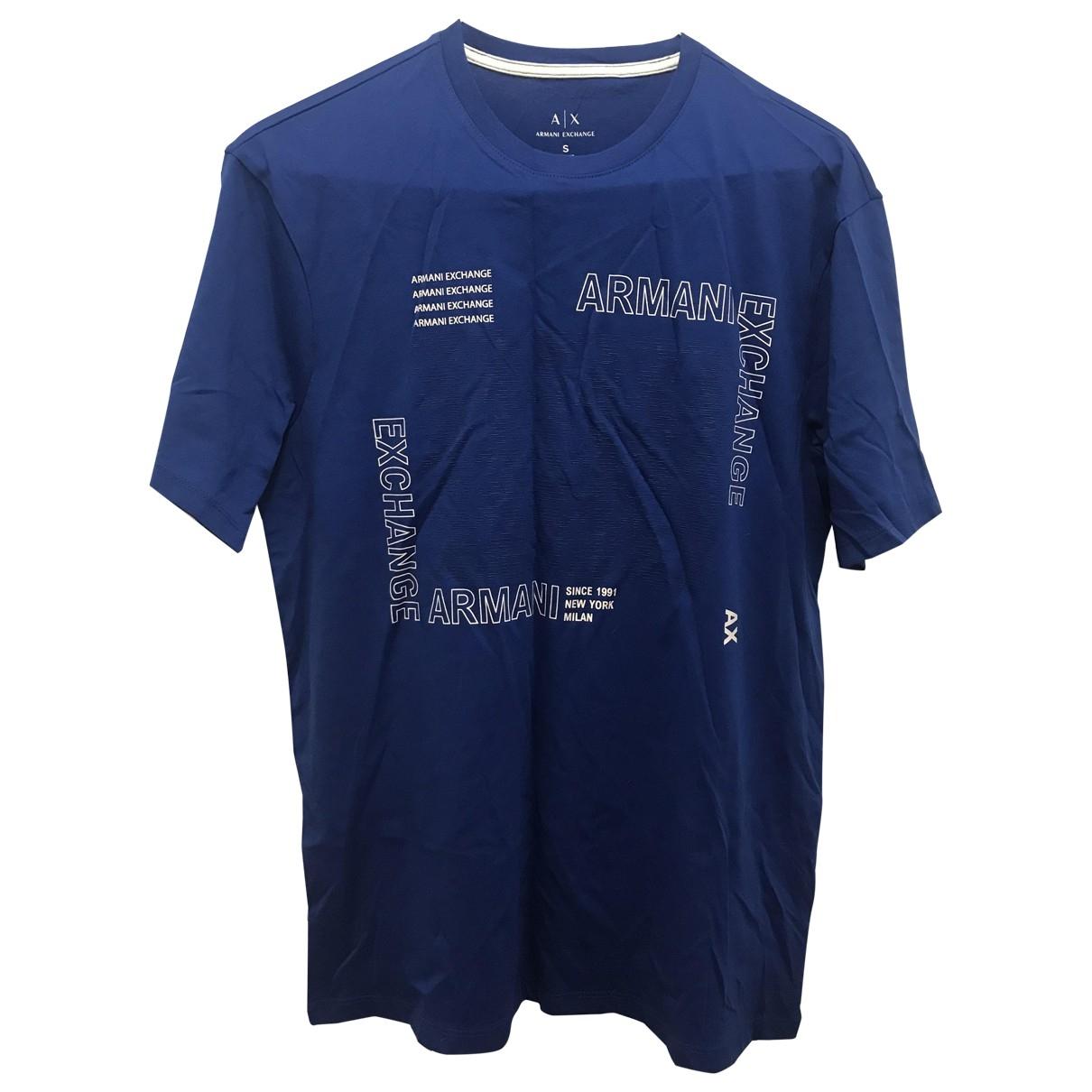 Emporio Armani \N Blue Cotton T-shirts for Men S International