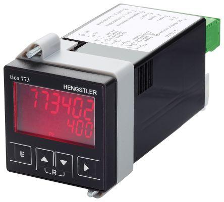 Hengstler TICO 773, 6 Digit, LCD, Digital Counter, 60kHz, 12 → 30 V dc